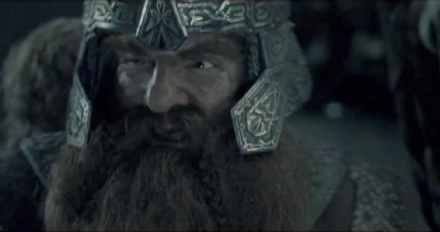 The Drawrf Gimli as has entered Moria